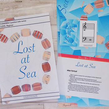 C Position Note Name Game for Beginners – Lost at Sea