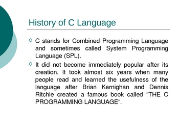 C Programming Presentations Complete Basics