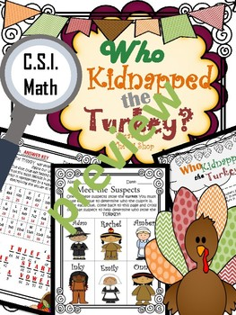 Entire Year {CSI Math Review} (9 month Bundle) NO PREP