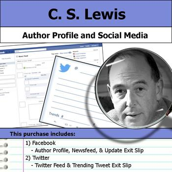 C. S. Lewis - Author Study - Profile and Social Media