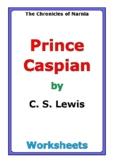 "C. S. Lewis ""Prince Caspian"" worksheets"
