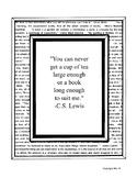 C.S. Lewis Quote Poster