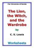 """C. S. Lewis """"The Lion, the Witch, and the Wardrobe"""" worksheets"""