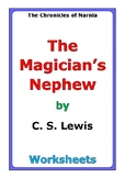 "C. S. Lewis ""The Magician's Nephew"" worksheets"
