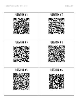 C-Scope Planets and the Solar System, QR Codes Review Activity