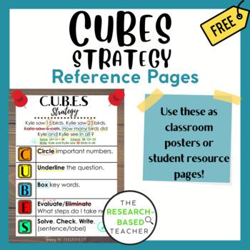 C.U.B.E.S Math Strategy