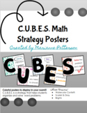 C.U.B.E.S. Math Strategy Posters