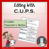 C.U.P.S. Editing Checklist