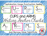C.U.P.S. and A.R.M.S. Writing Anchor Charts