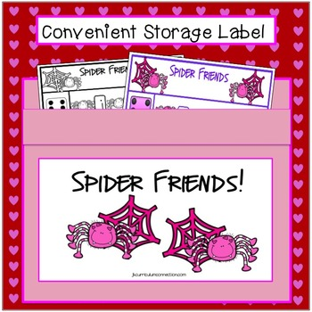 C-V-C Word Building Game FREEBIE – Spider Friends!