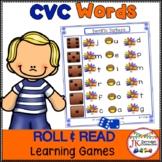 C-V-C Word Building Game - Farm Theme