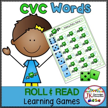 C-V-C Word Building Game – Happy Bats!