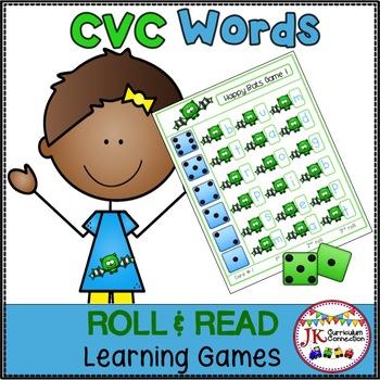 C-V-C Word Building Game – Happy Bats!