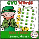 C-V-C Word Building Game - St. Patrick's Day Theme