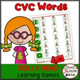 C-V-C Word Literacy Game - Santa's Workshop!