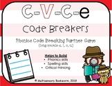 C-V-C-e Code Breakers (phonics partner game)