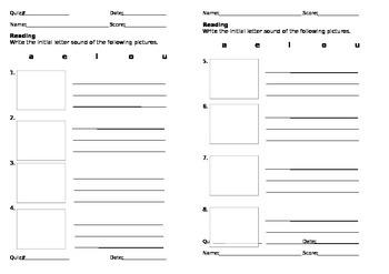 C.V.C work sheets