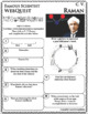 C. V. RAMAN Science WebQuest Scientist Research Project Biography Notes