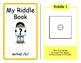 C Word Riddles Adapted Velcro Book, SPEECH THERAPY, Autism