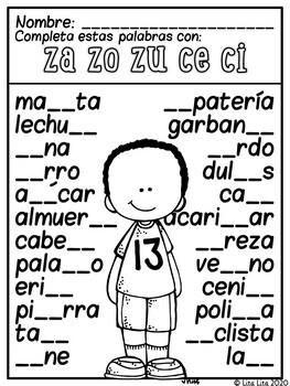 C Z spanish centers