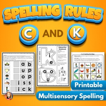 C and K Spelling Rule Cool Tools Activities