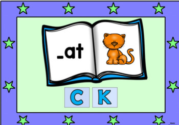 C and K Spelling Rule Digital Boom Task Cards