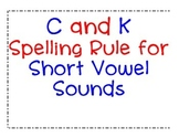 C and K Spelling Rules