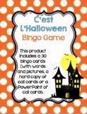 Halloween Bingo Game: French Bingo including 30 cards and