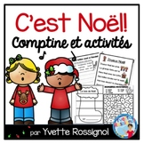 Noël français (Comptine et activités) - French Christmas reading and writing