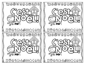 C'est Noël! Petit livre • French Emergent Reader