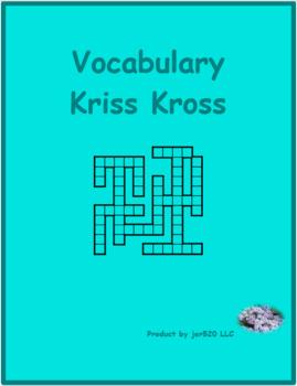C'est à toi 1 Unité 12 Kriss Kross puzzle