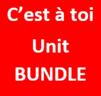 C'est à toi 1 Unité 2 Bundle