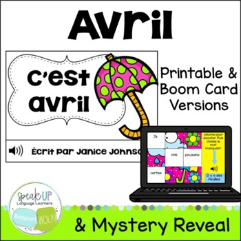C'est avril~ French April reader {livre en français}