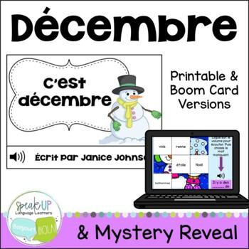 C'est décembre ~ French December reader {livre en français}