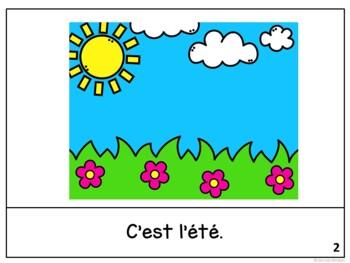 C'est juillet ~ French July reader {livre en français}