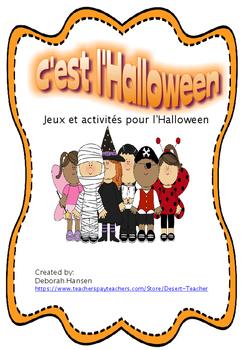l'Halloween! En Français