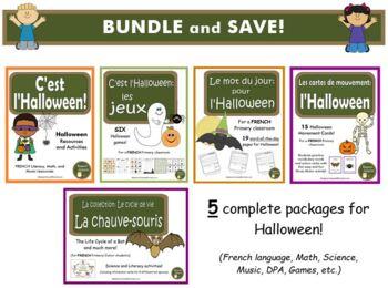C'est l'Halloween - (French Halloween activities) - SUPER Bundle