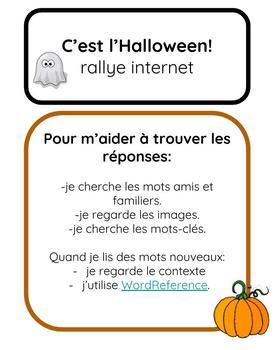 C'est l'Halloween:  rallye internet