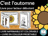 C'est l'automne - Livre pour lecteur débutant - French - F