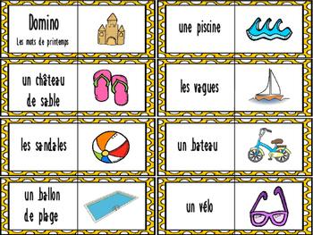C'est l'été! 4 jeux de mots - Summer language games