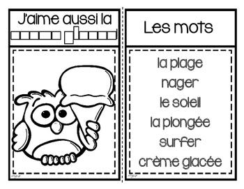 C'est l'été! French Emergent Reader