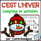 Comptine et activités de lecture et écriture pour l'hiver    French winter