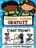 Petit livre GRATUIT pour l'hiver! - l'hiver français  - French winter