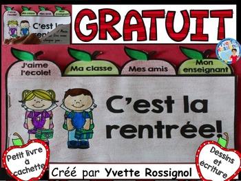 C'est la rentrée! (Gratuit) L'automne, French Immersion, ressources françaises