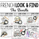 French I Spy - Letters, Sight Words, Decoding - THE BUNDLE