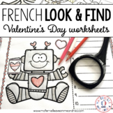 C'est moi l'espion! la Saint-Valentin (St-Valentin - French Sight Word Practice)