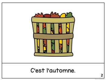 C'est novembre ~ French November reader {livre en français}