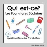 C'est qui? Les fournitures scolaires - French - School Sup