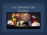 C'est quoi le Carnaval de Québec?