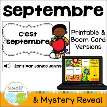 C'est septembre French September reader {livre en français}